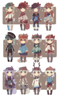 adopt set 1 - [closed] by caedrea