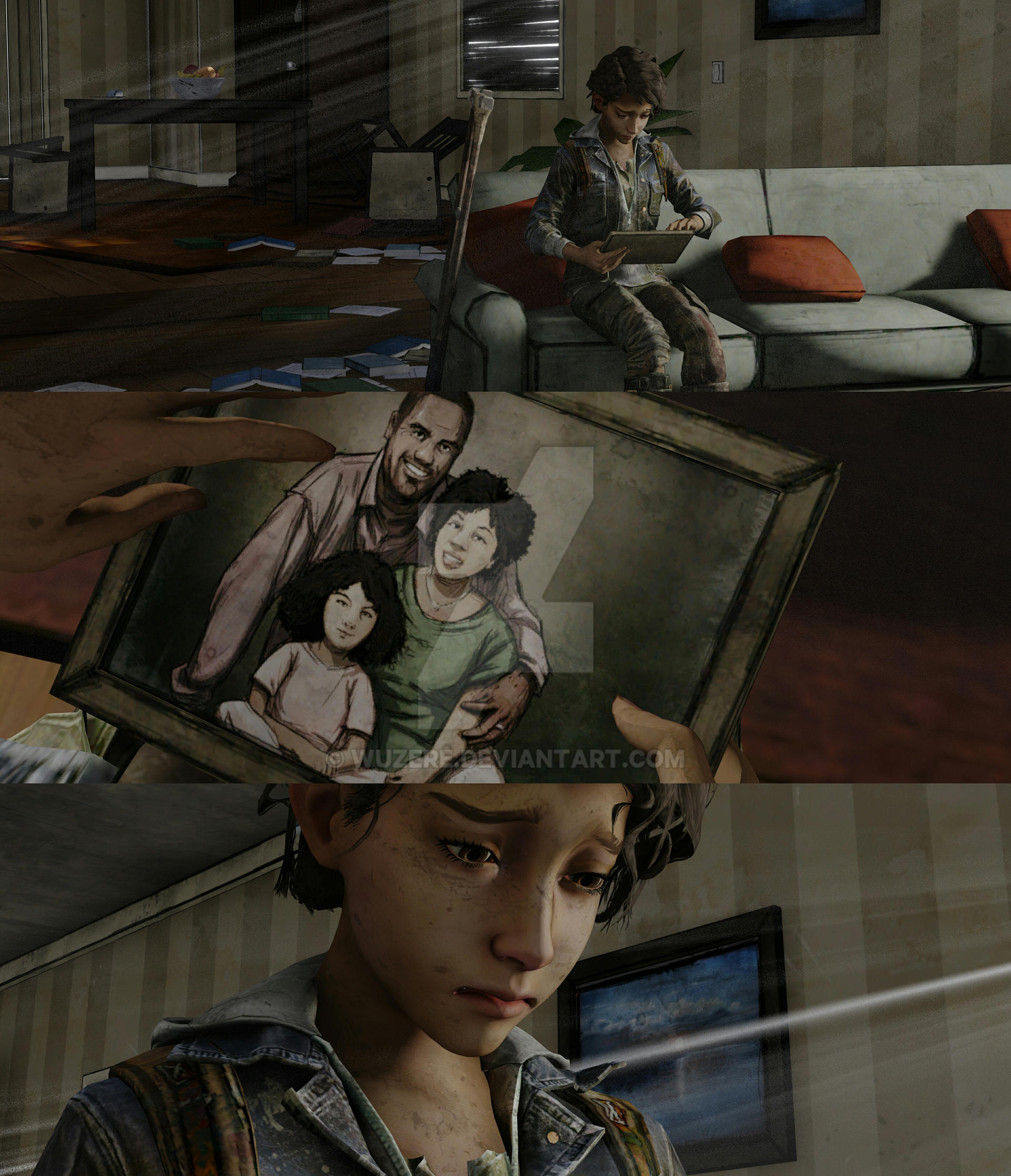 Clementine And Aj Part 2 Twd Tfs By Wuzere On Deviantart