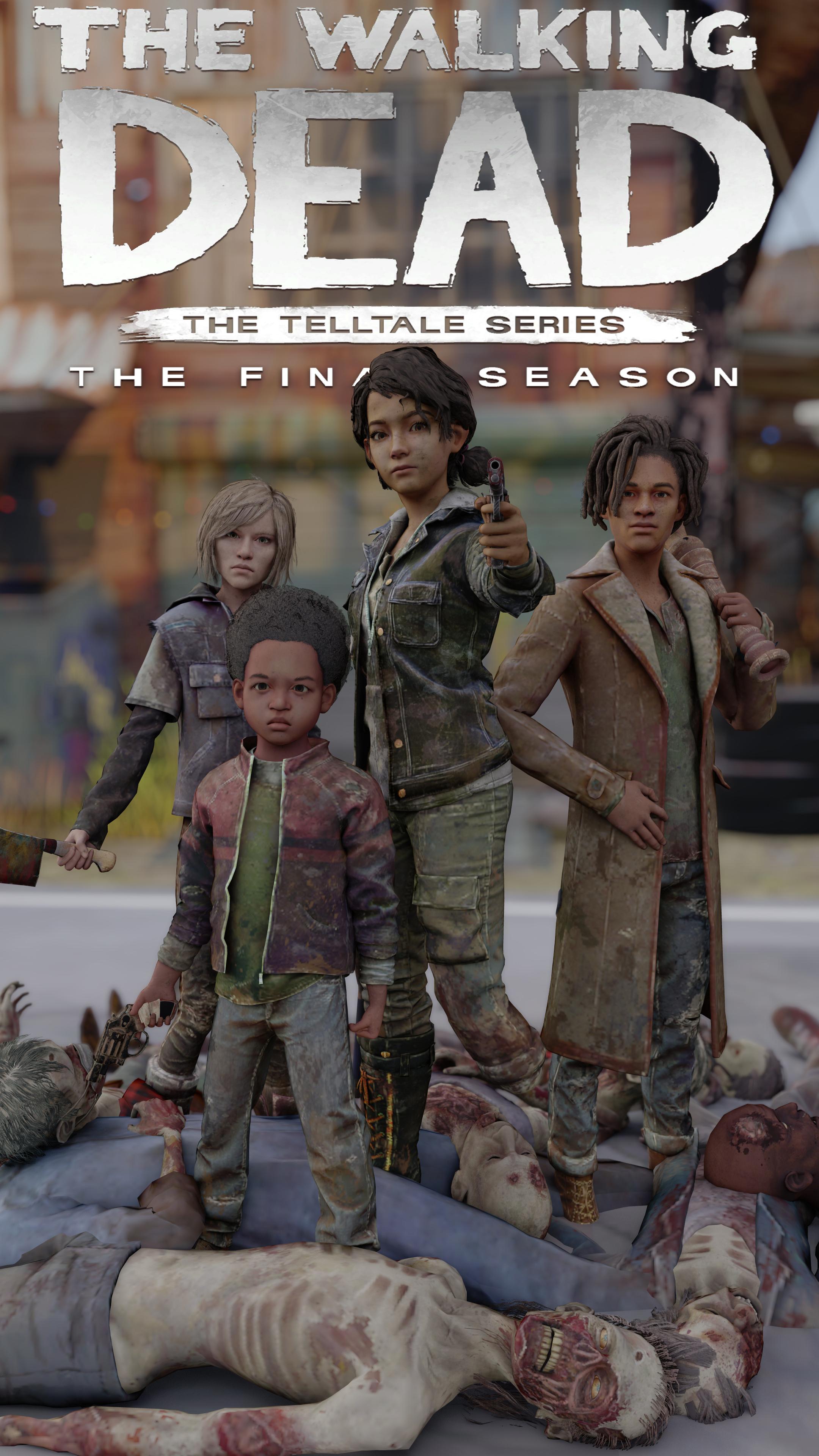 The Walking Dead The Final Season Wallpaper Phone By Wuzere On