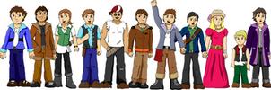 TAA: Character lineup by one-tru-blu
