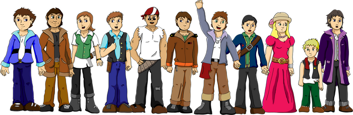 TAA: Character lineup