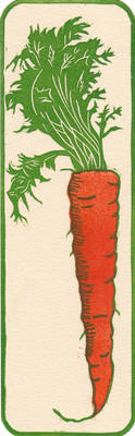 Carrot Bookmark by mouse2cat
