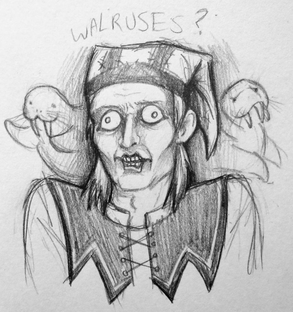 WALRUSES? by Crimson-Miz