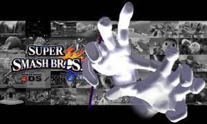 SSB for Wii U/3DS Master + Crazy Hand Background