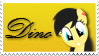 Dino Stamp (OC) by Kevinerino