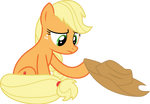 Applejack doesn't know how hats work S05E03