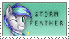 Storm Feather Stamp