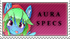 Aura Specs Stamp