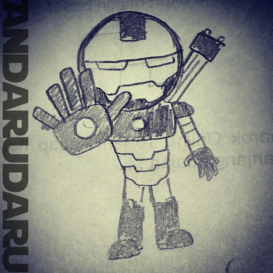 War Machine by andarudaru