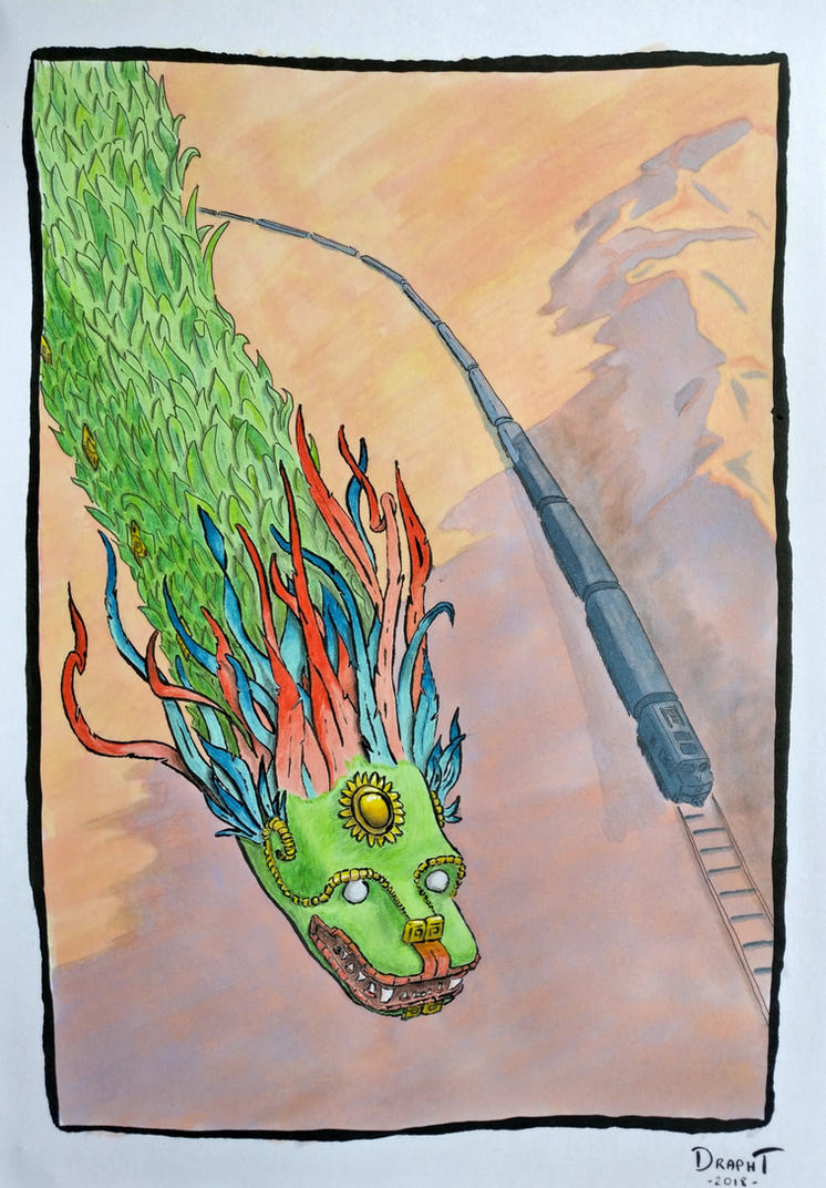 Quetzalcoatl by Dr4phT