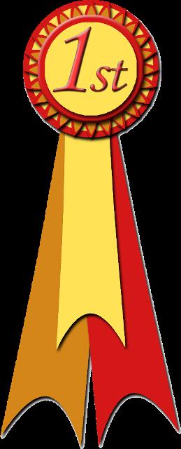 ist place ribbon