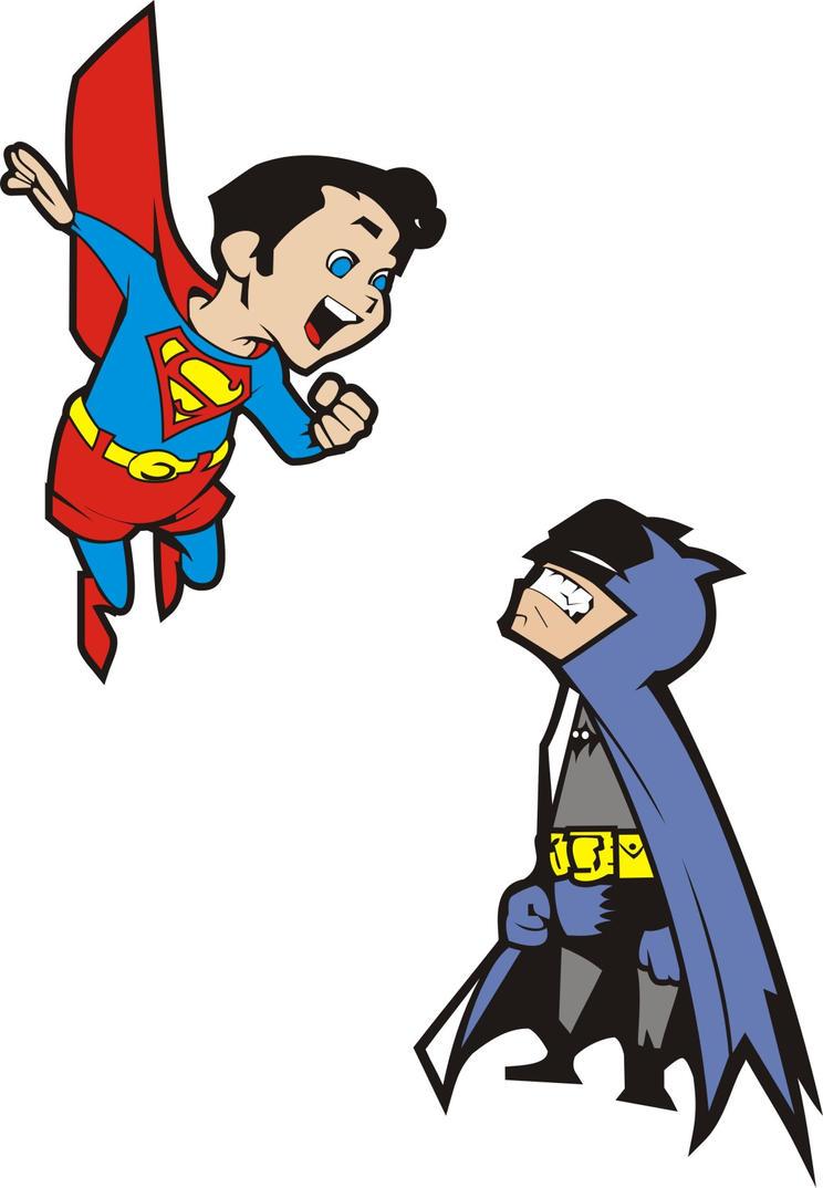 batman and superman cartoon wallpaper - photo #37