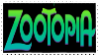 Zootopia Stamp by SleepyheadRetro