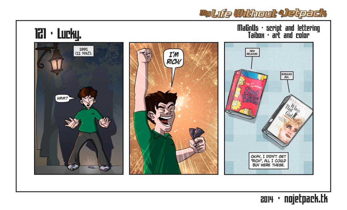 My Life Without A Jetpack #121 by lordmagnusen