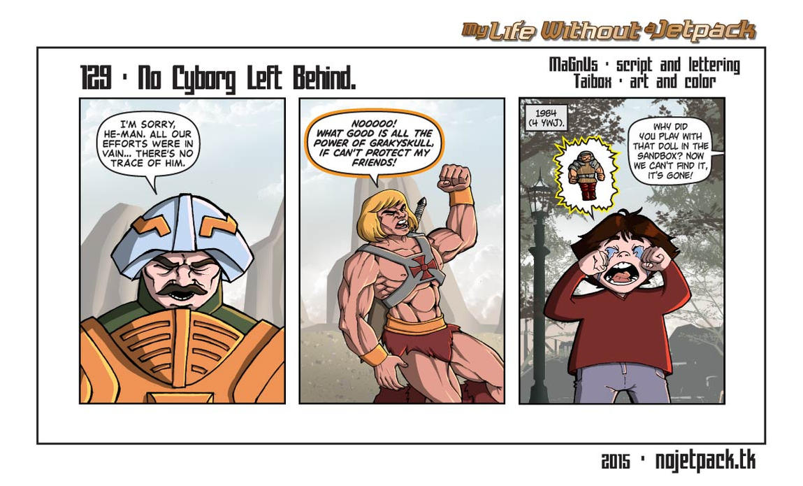 My Life Without A Jetpack #129 by lordmagnusen