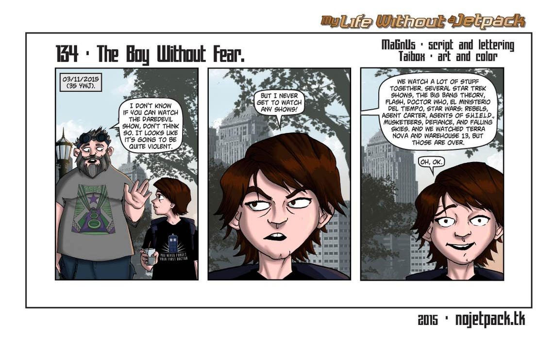 My Life Without A Jetpack #134 by lordmagnusen