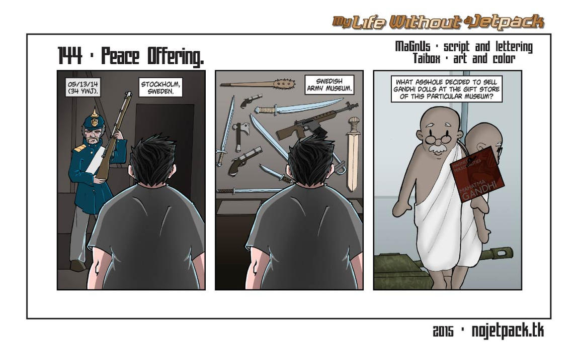 My Life Without A Jetpack #143 by lordmagnusen