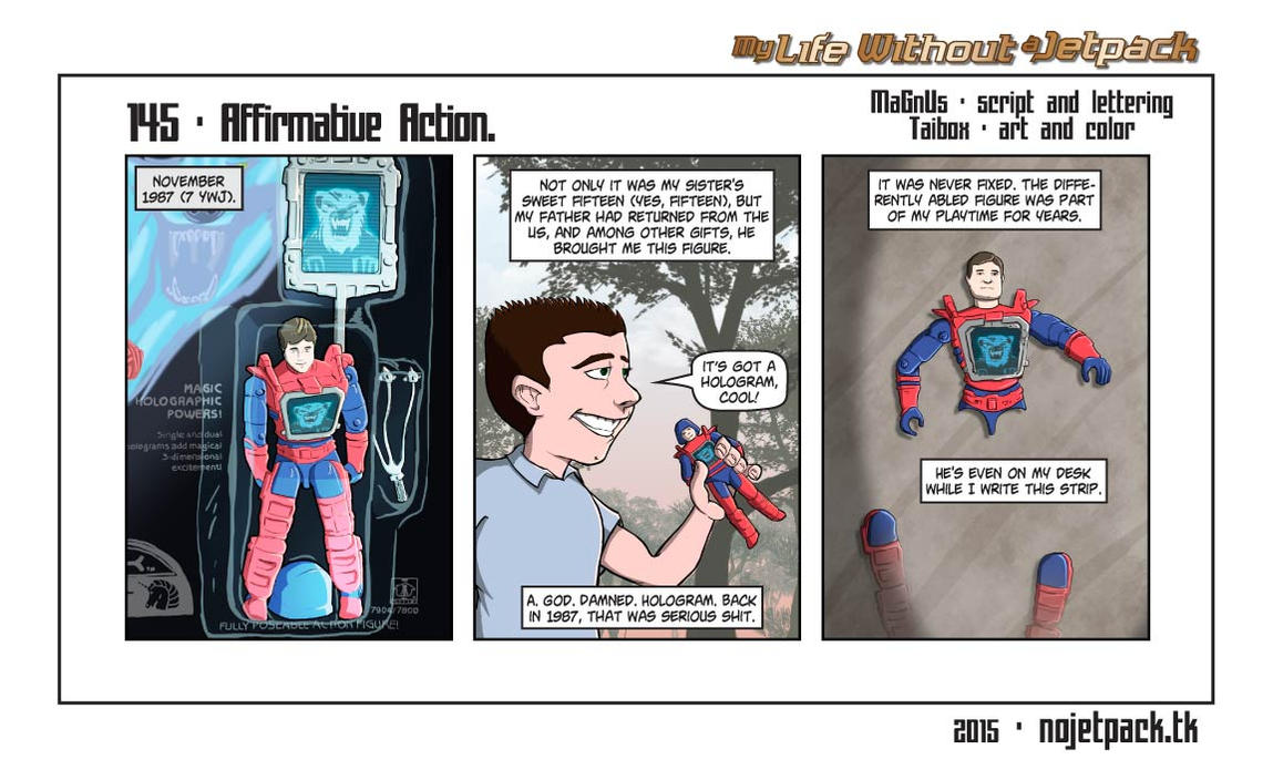 My Life Without A Jetpack #145 by lordmagnusen