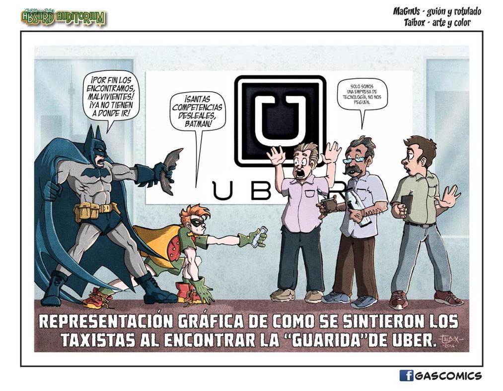 MVT Absurd Auditorium #18: La Guarida De Uber by lordmagnusen