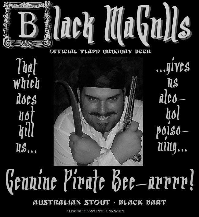 Black MaGnUs Beer Label 01 by lordmagnusen