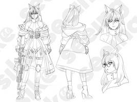 Aresyne Outline by sikeyourmind
