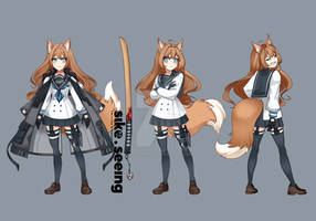 Liminy-(Character-Design)-White by sikeyourmind