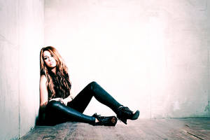 Miley Cyrus photoshoot by PeaceMiley