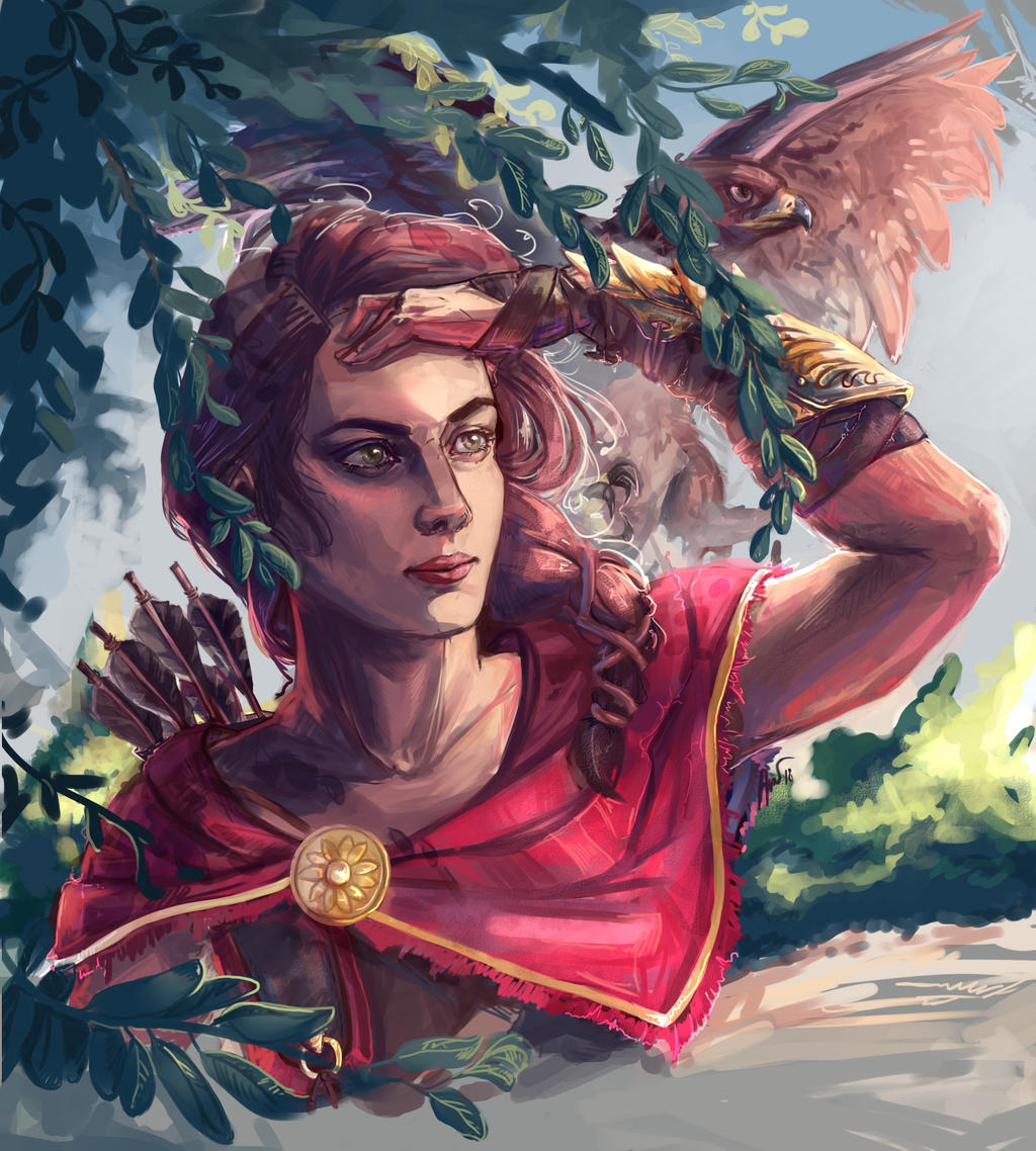 Kassandra Assassin S Creed Odyssey By Cutejelly On Deviantart