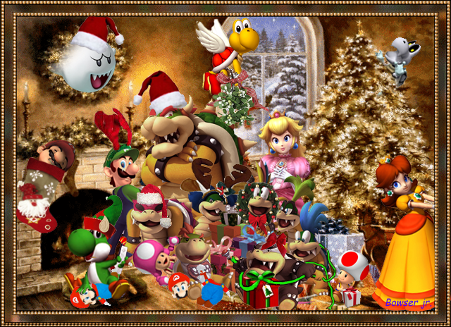 merry christmas bowser by bowser90 - Merry Christmas Games