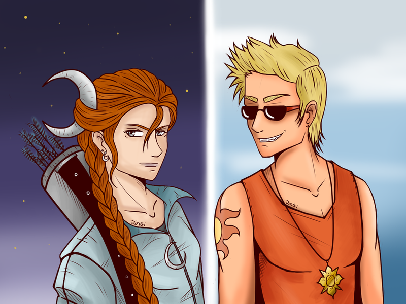 Pictures of Artemis Percy Jackson Fan Art - #rock-cafe