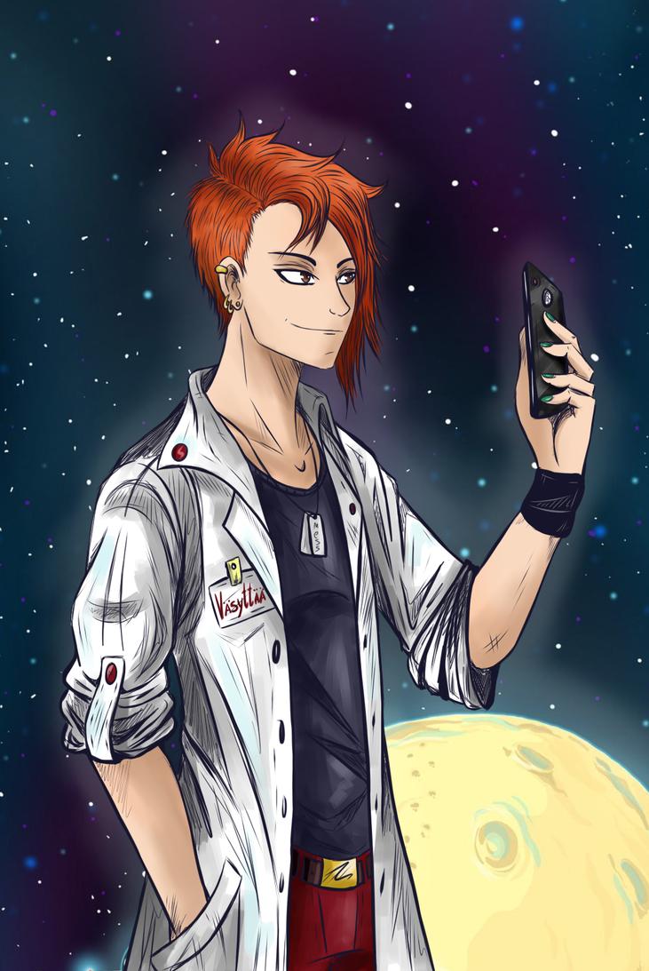 Space Naki by JinGi