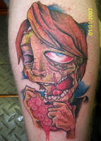 Zombie Tattoo by deargodeverything