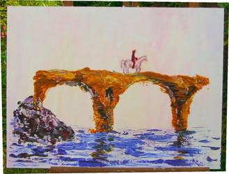 The Bridge - in progress by Audierne