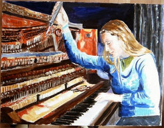 The Piano Tuner by Audierne