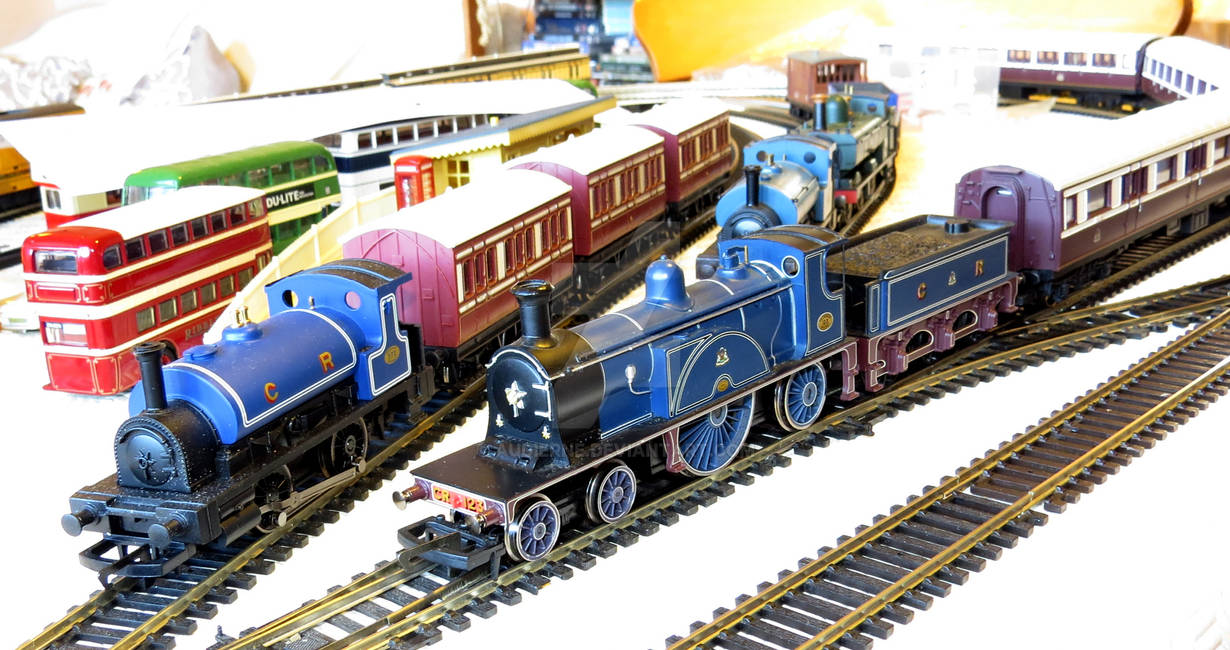 Some Hornby Caledonian Locos