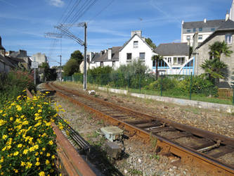 West From Quimper Station