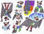 Zootopia OC Fruit Bat