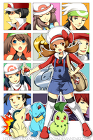 Pokemon HGSS by betrayal-and-wisdom