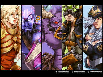 League of Legends by betrayal-and-wisdom