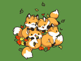 derby: playful foxes by betrayal-and-wisdom