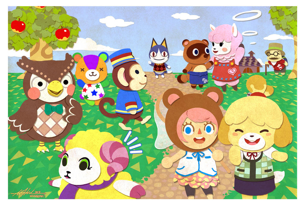 Animal crossing new leaf by betrayal and wisdom on deviantart - Coupes animal crossing new leaf ...