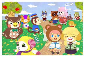 Animal Crossing: New Leaf by betrayal-and-wisdom