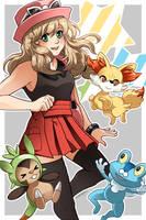 Pokemon XY by betrayal-and-wisdom