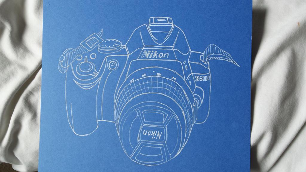 Final Piece Camera outline by AmyTheStrange1