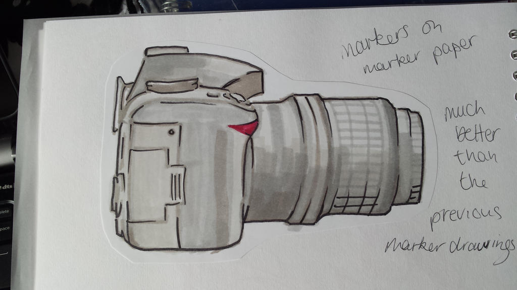 Marker Camera - College Work by AmyTheStrange1