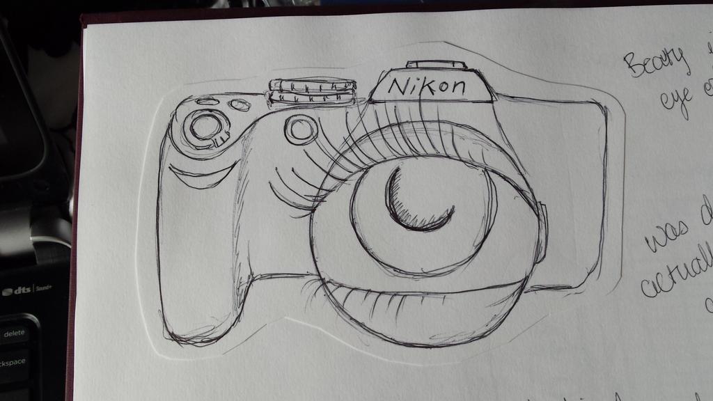 Conceptual idea - Camera by AmyTheStrange1