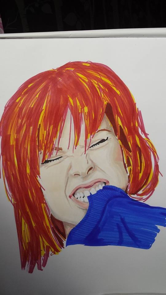 Hayley Williams - Pro Markers by AmyTheStrange1