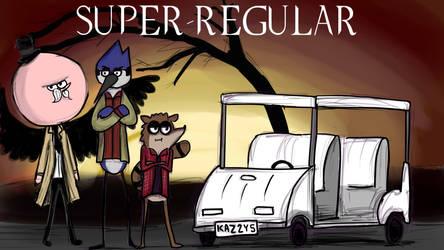Super-regular - Supernatural x Regular Show cross