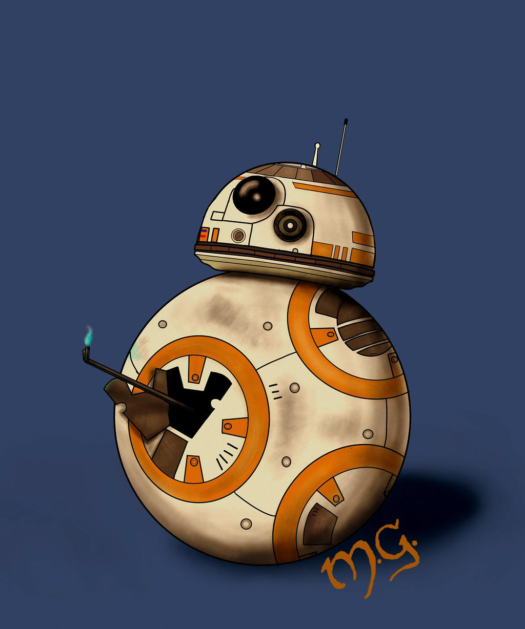 BB-8 by wolfieous