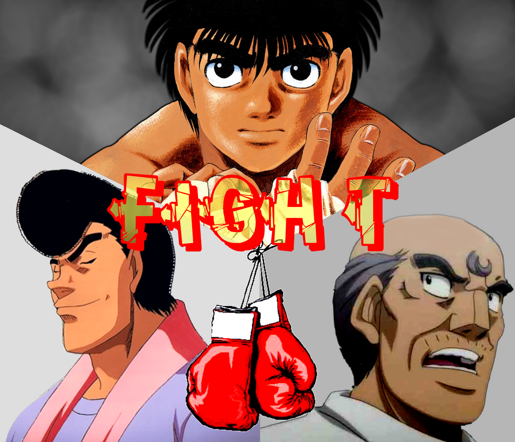 Hajime No Ippo FIGHT By Meykame On DeviantArt